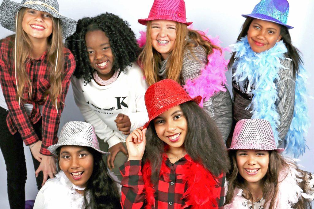 glamour visagie meidengroep