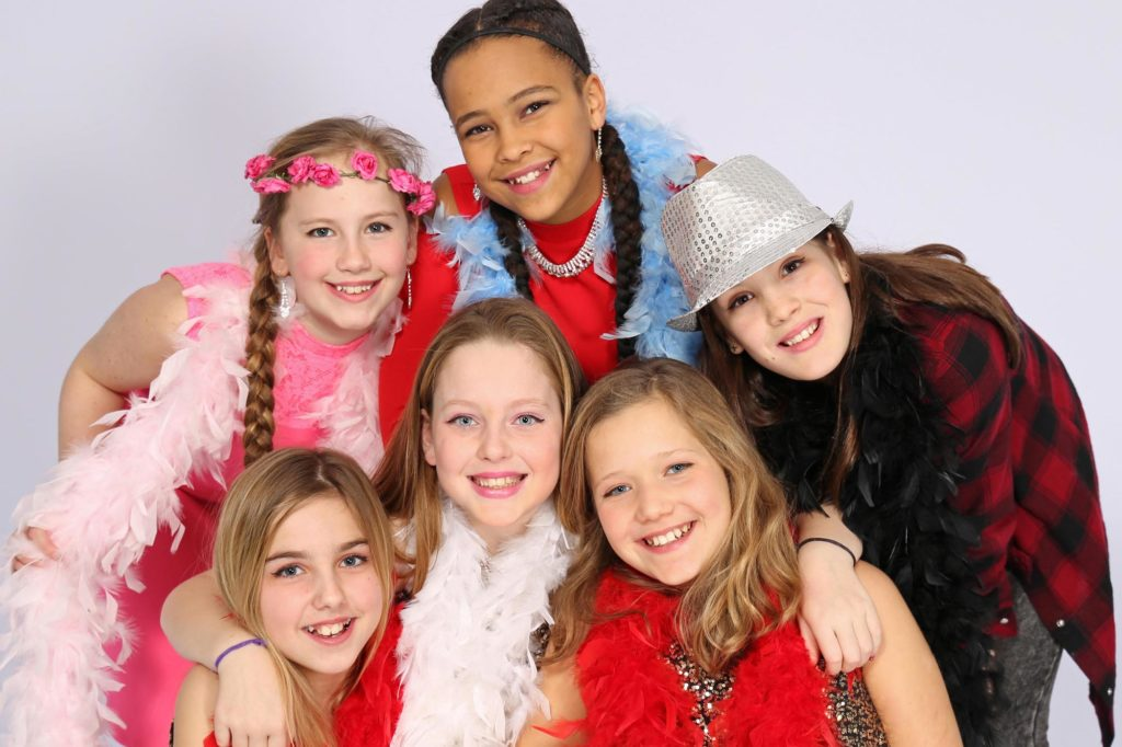 In stijl met glitter en glamour een top feest voor meiden.