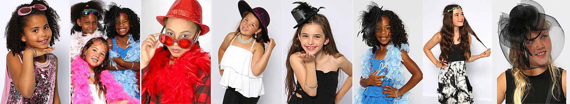 glamour make-up kinderfeestje voor meiden met modelfoto's in Almere bij Star for a Moment