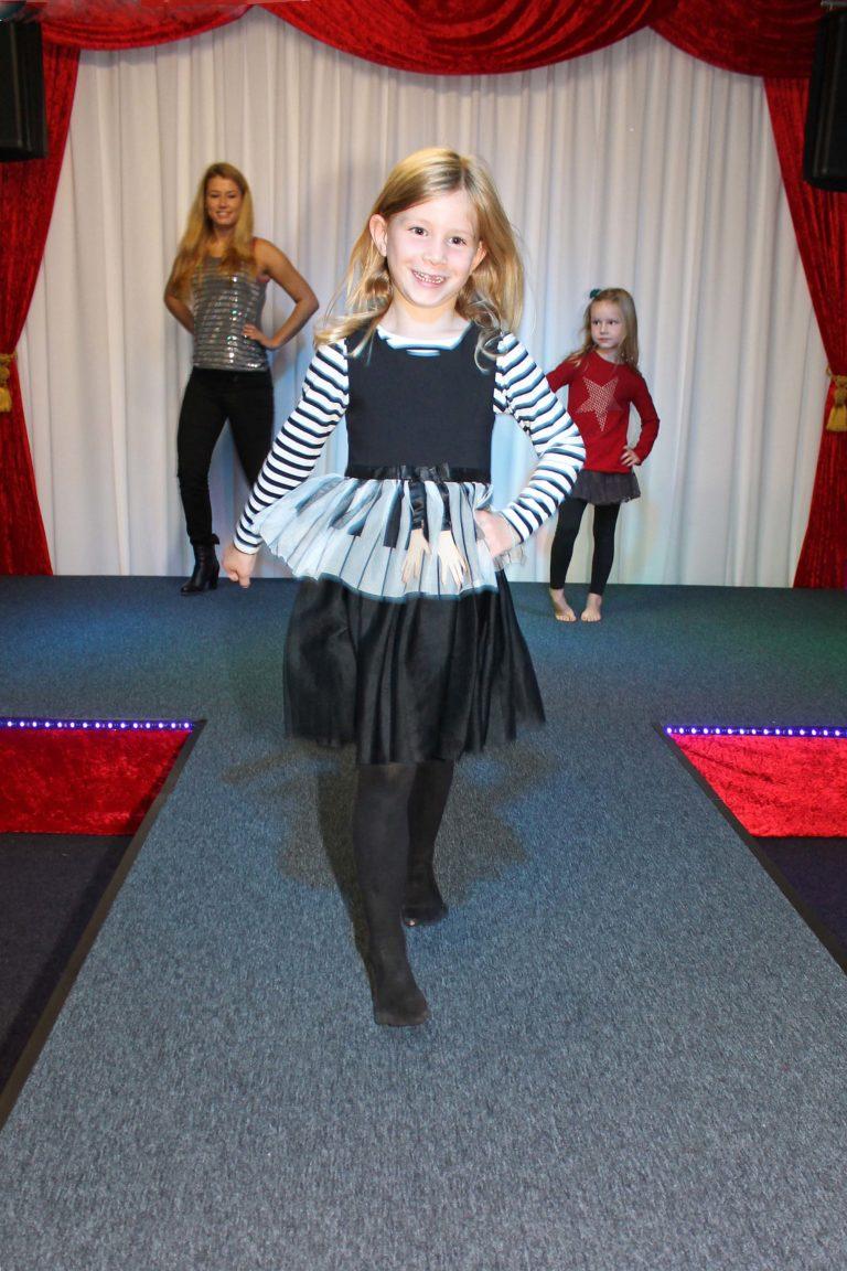 catwalk kinderfeestje met choreografie