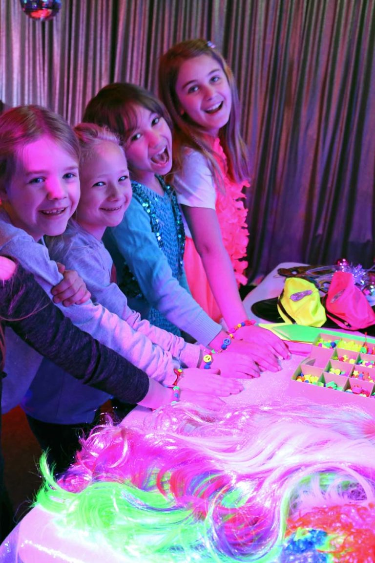 Disco kinderfeestje op locatie in Almere