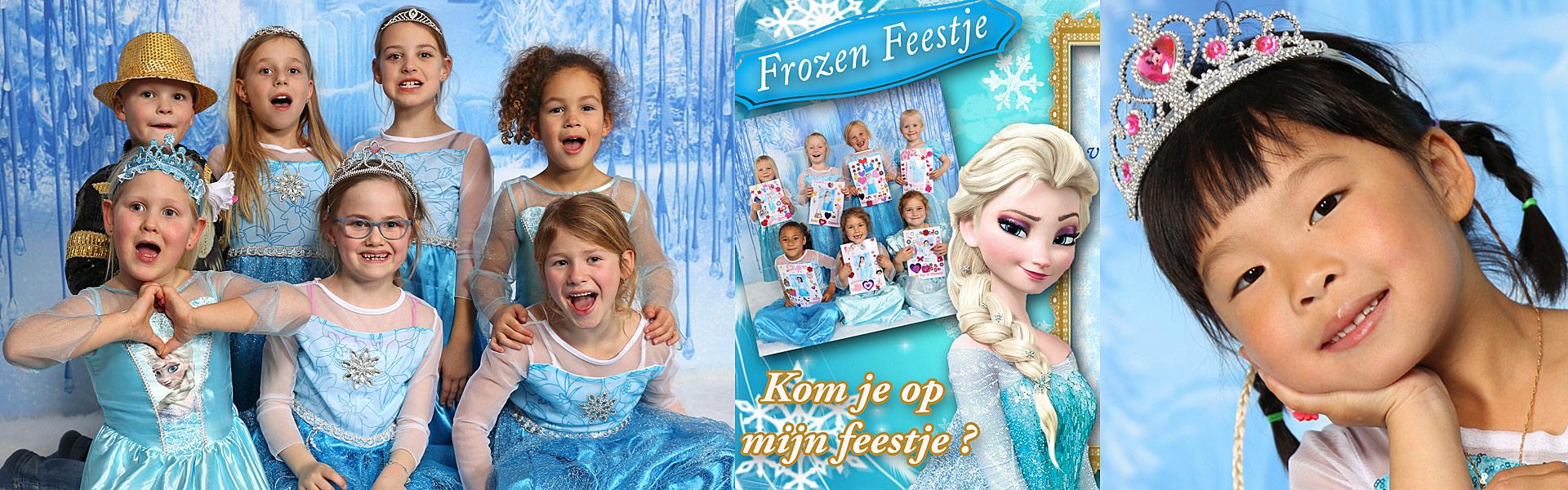 Frozen kinderfeestjes, leuk verjaardagsfeestje vanaf 5 jaar t/m 10 jaar in Almere
