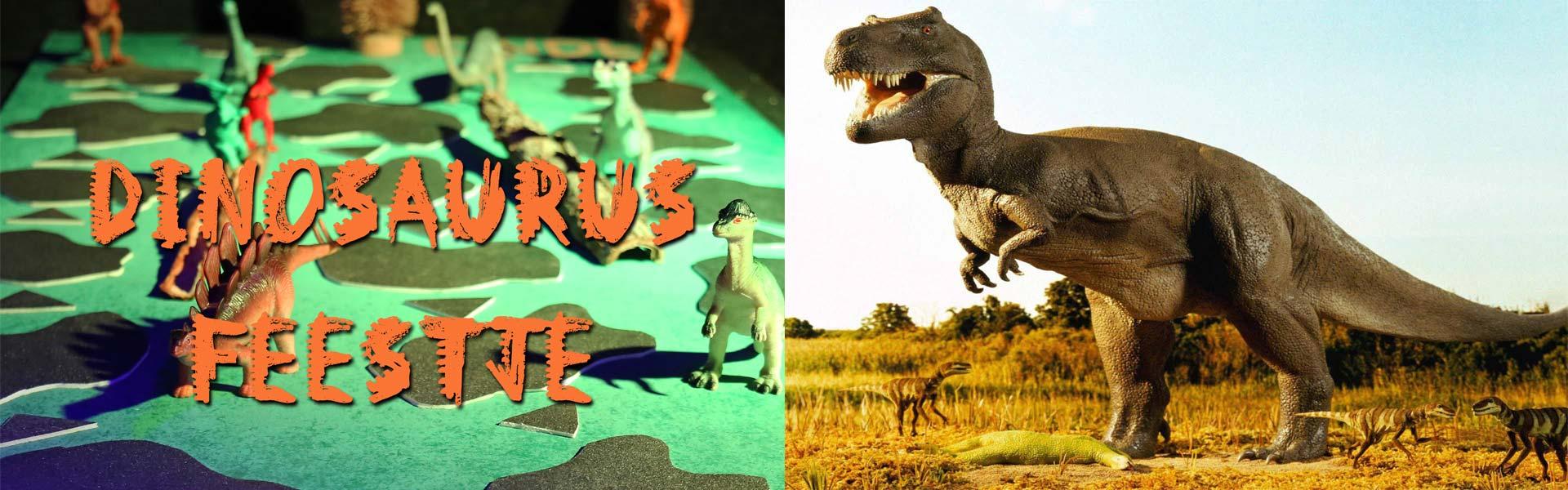 dino jongens feestje dinosaurus